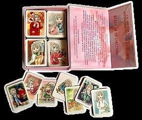 """Игра Карточки """"Распорядок дня"""" Набор №2 для светленьких девочек"""