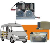 Электропривод сдвижной двери для микроавтобусов двомоторный Германия BOSCH