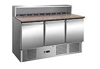 Холодильный стол для пиццы салат-бар GGM SAG147GND#3T