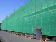 Сітка затіняюча для риштувань 150 г/кв.м., 3.0х50 м, HDPE. beige