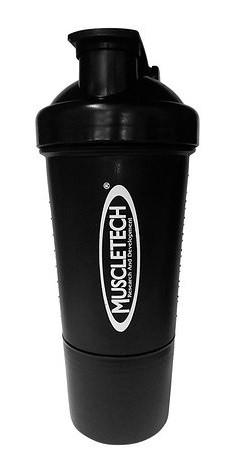 Шейкер MuscleTech - 2-х компонентный (500 мл) черный