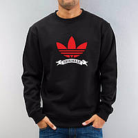 Демисезонная мужская спортивная кофта Adidas (Адидас), черная