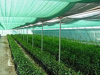 Сітка затіняюча 160 г/кв.м., 3.0х50 м, HDPE. dark green