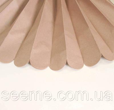 Бумажные помпоны из тишью «Mocca», диаметр 25 см.