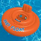 Надувной плотик круг Baby Float 1-2 года Intex 56588, фото 2