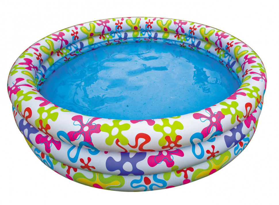 Дитячий надувний басейн Intex 56440 Різнобарвний сплеск