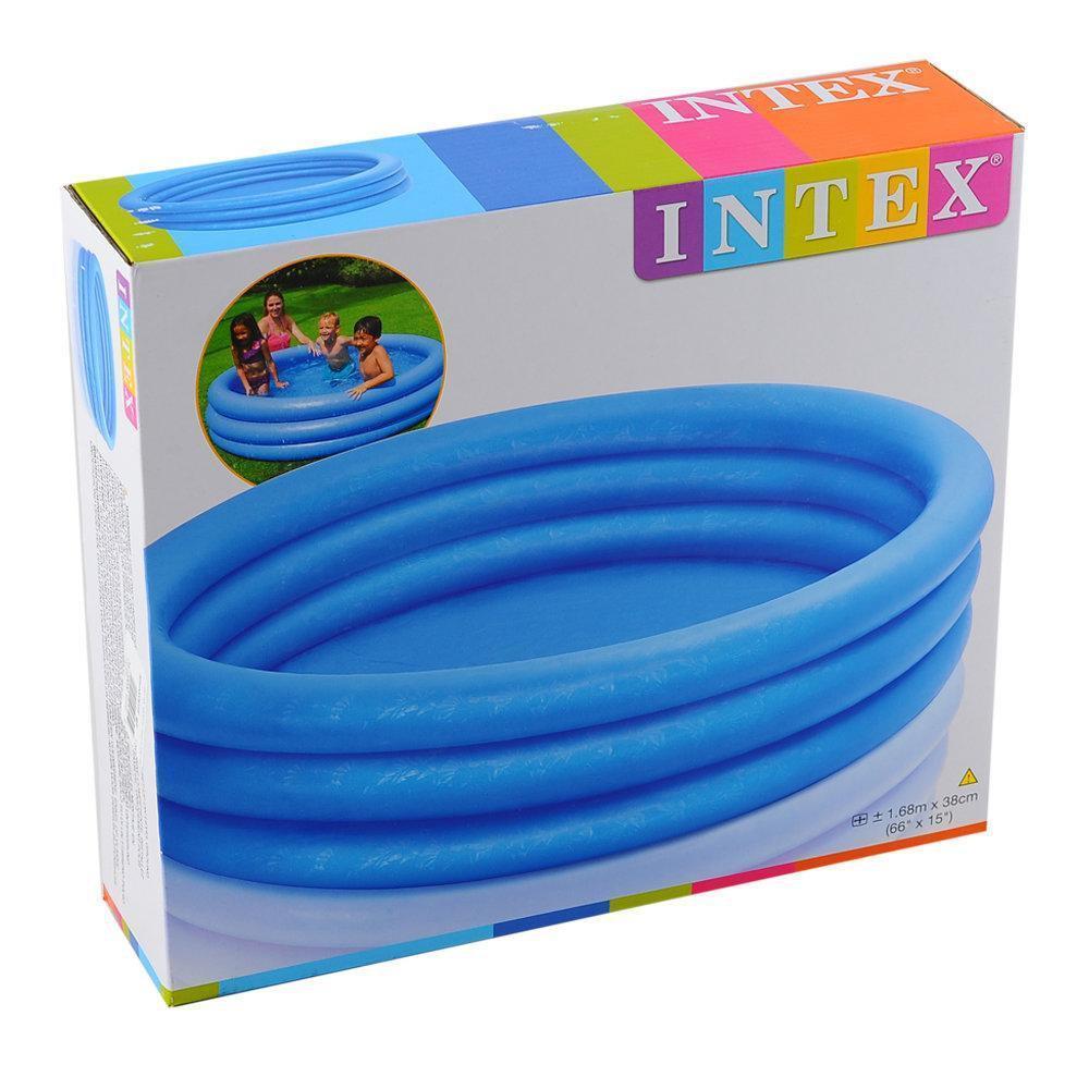 Надувний басейн «Кришталевий» INTEX (58446)