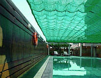 Сітка затіняюча 80 г/кв.м., 3.0х50 м, HDPE. green