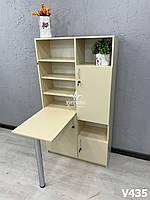 Маникюрный стол со шкафом (стеллажом), складной. Модель V435, фото 1