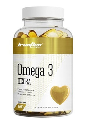 Омега IronFlex - Omega 3 Ultra (180 капсул)