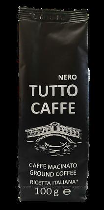Кава мелена TUTTO CAFFE Nero, 100гр, фото 2