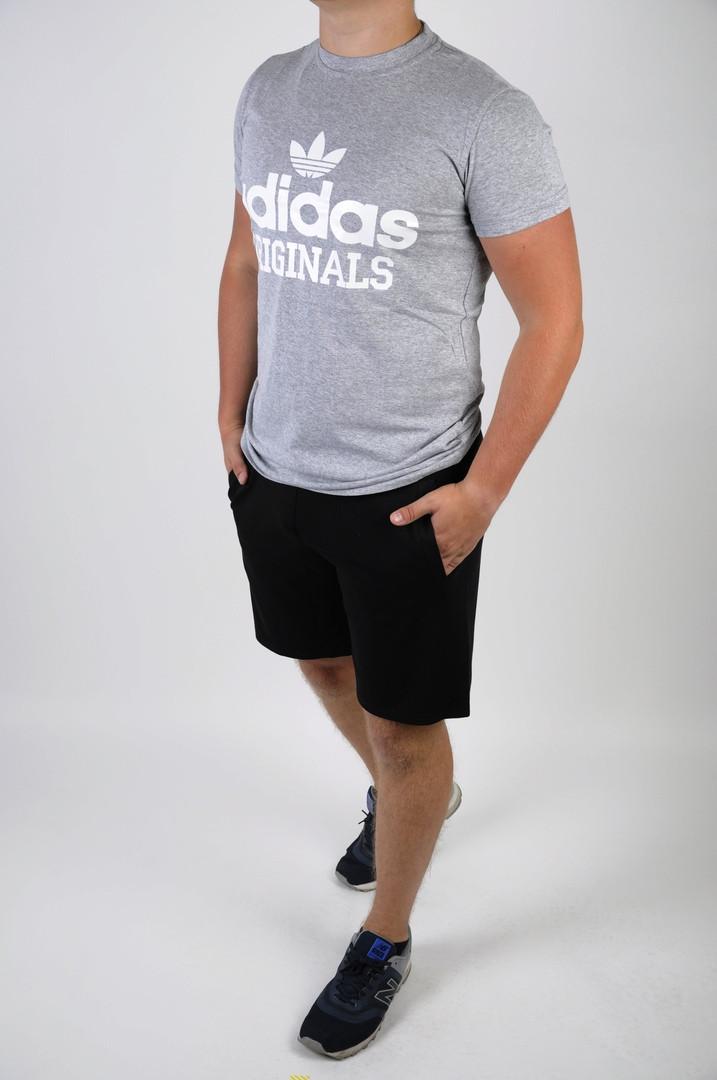 Футболка + шорты Adidas (мужской летний костюм Adidas). ТОП качество!!!
