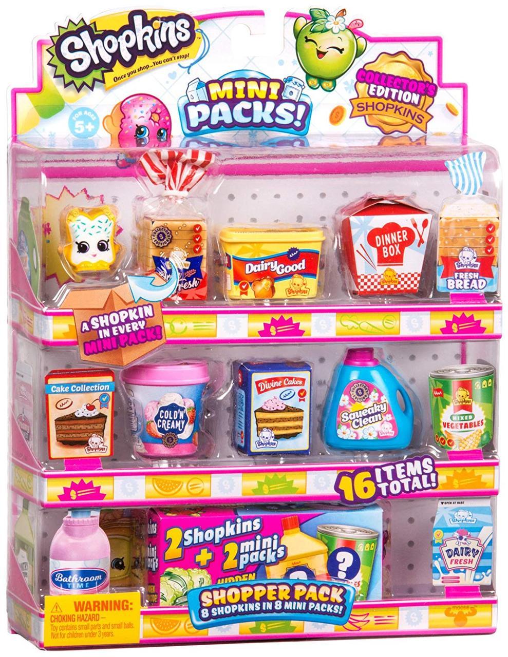 Shopkins Шопкинс Игровой набор Набор покупателя 56751 Shopkins Shopper Pack 10 сезон