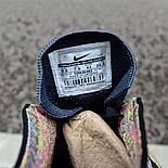 """Мужские кроссовки Nike Flyknit Racer """"Multicolor"""" в сеточку. Живое фото (Реплика ААА+), фото 4"""