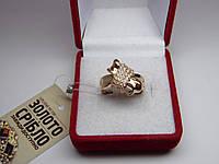 Золотое женское кольцо. Размер 18