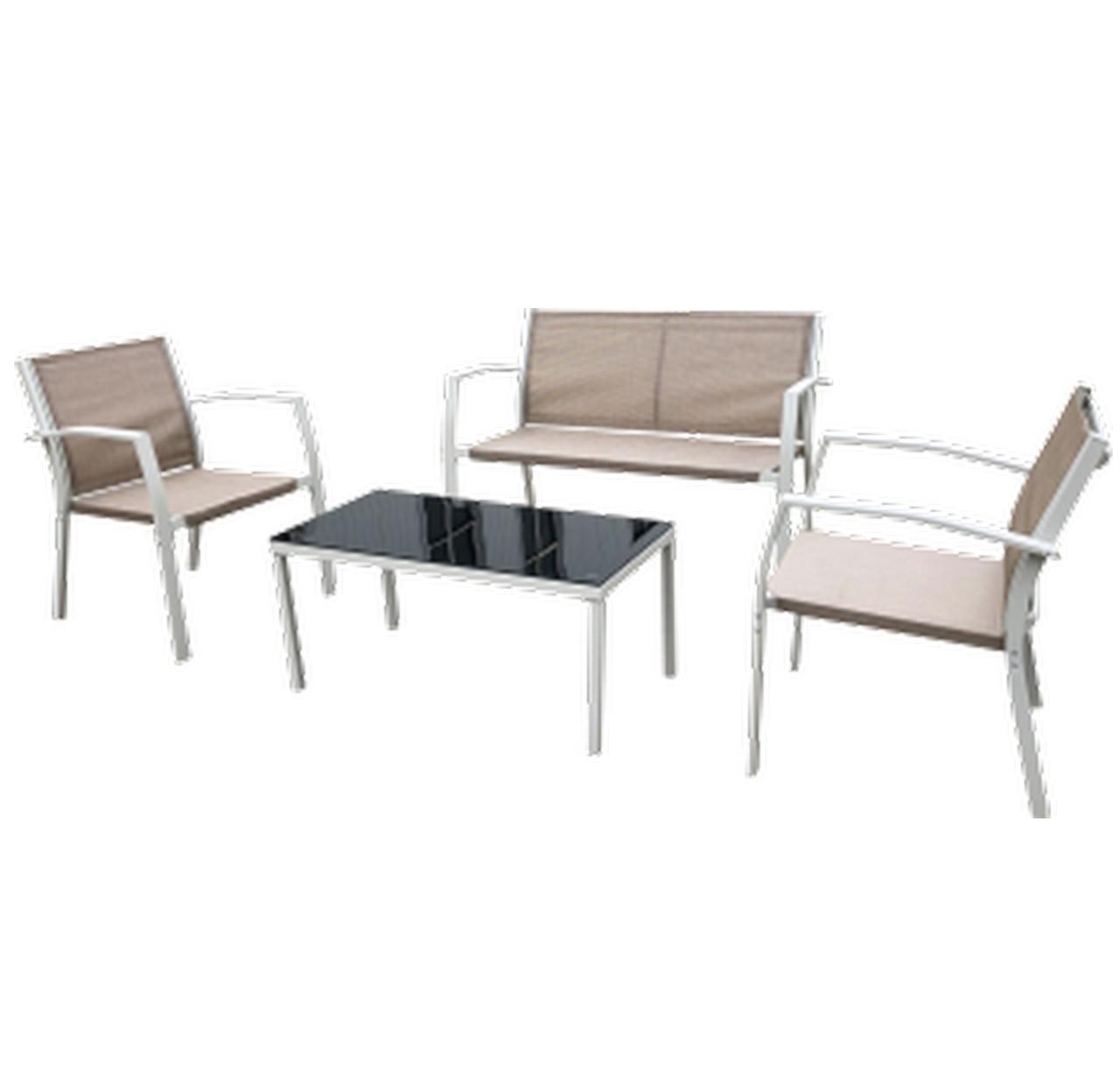 Садовый комплект Camaron (стол, диван, + 2 кресла), TM AMF