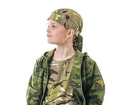 Бандана детская камуфляж Мультикам, фото 3