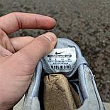 Мужские кроссовки Nike SB Stefan Janoski MAX Gray&White в сеточку. Живое фото (Реплика ААА+), фото 5