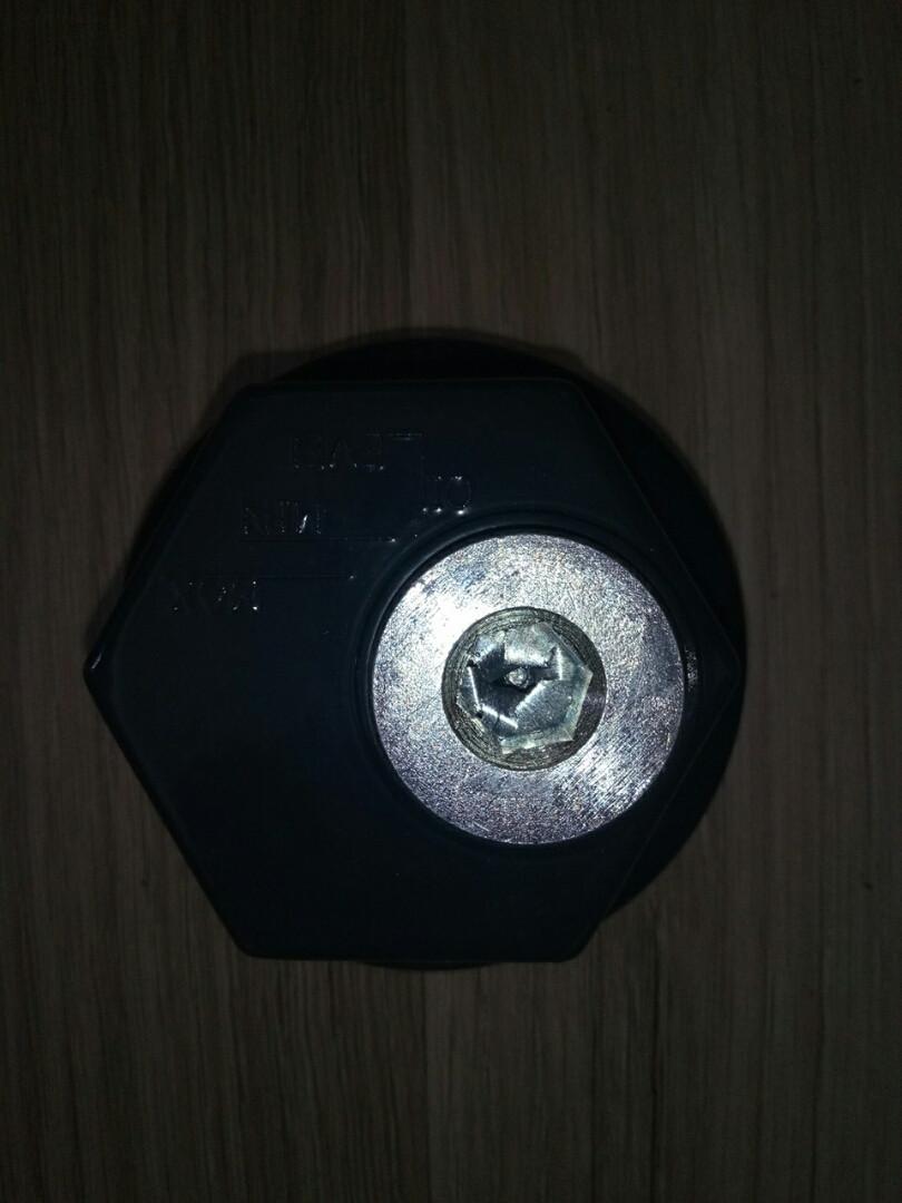 Крышка ступицы передней с пробкой AUG78524 (7184092) IVECO