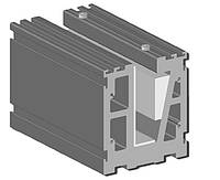 Алюминиевый профиля для крепления стекла, фото 1