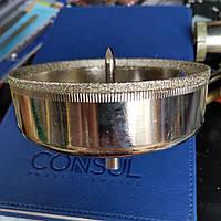 Сверло алмазное трубчатое с направляющим по плитке 95 мм