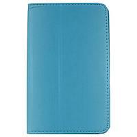✸Чехол LESKO Call 7 Blue книжка подставка для планшета от царапин и потертостей