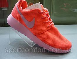 Кроссовки  Nike Roshe Run коралл