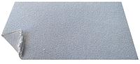 Автоткань потолочна светло серая, автовелюр на поролоне и сетке ширина 180 см