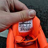 "Мужские кроссовки Nike Air Max 95 Just Do It ""Pack Orange"" с балоном оранжевые. Живое фото. Реплика, фото 5"