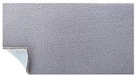 Ткань потолочная светло-серая (теплый оттенок), авто велюр на поролоне с сеткой шир. 1.8м