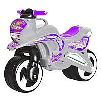 Каталка Мотоцикл (серый)