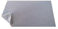 Ткань потолочная цвет темно-серый, автовелюр на поролоне с сеткой шир. 1.8м