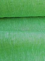 Льняная скатертная ткань с меланжевым эффектом (шир. 150 см), фото 1