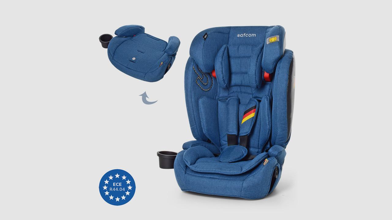 Детское автокресло. EL CAMINO YY11-4 SAFCOM. Синее