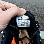 """Мужские кроссовки Nike Air Max 95 Just Do It """"Pack Black"""" с балоном черные Живое фото (Реплика ААА+), фото 5"""