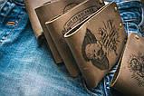 Чоловічий шкіряний гаманець ТатуНаКоже, POWER MOTOR, фото 5