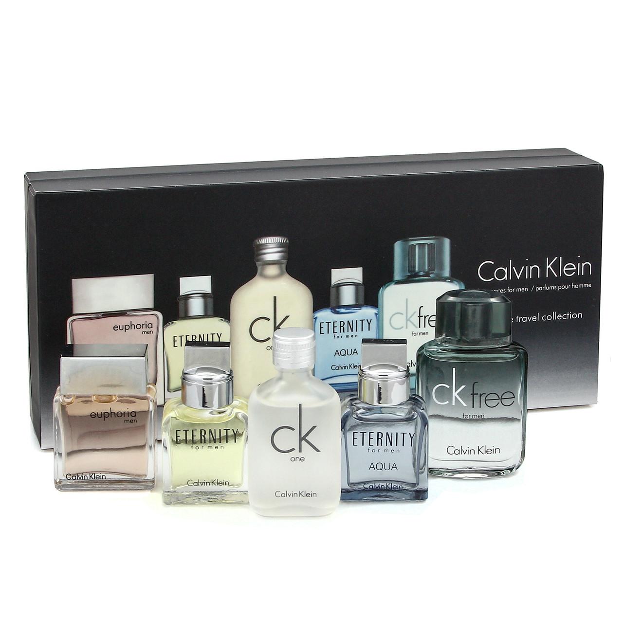 Подарочный набор Calvin Klein Deluxe Travel Edition 5 в 1