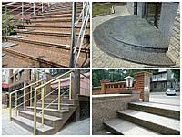 Купить гранитные ступени в Запорожье, фото 1