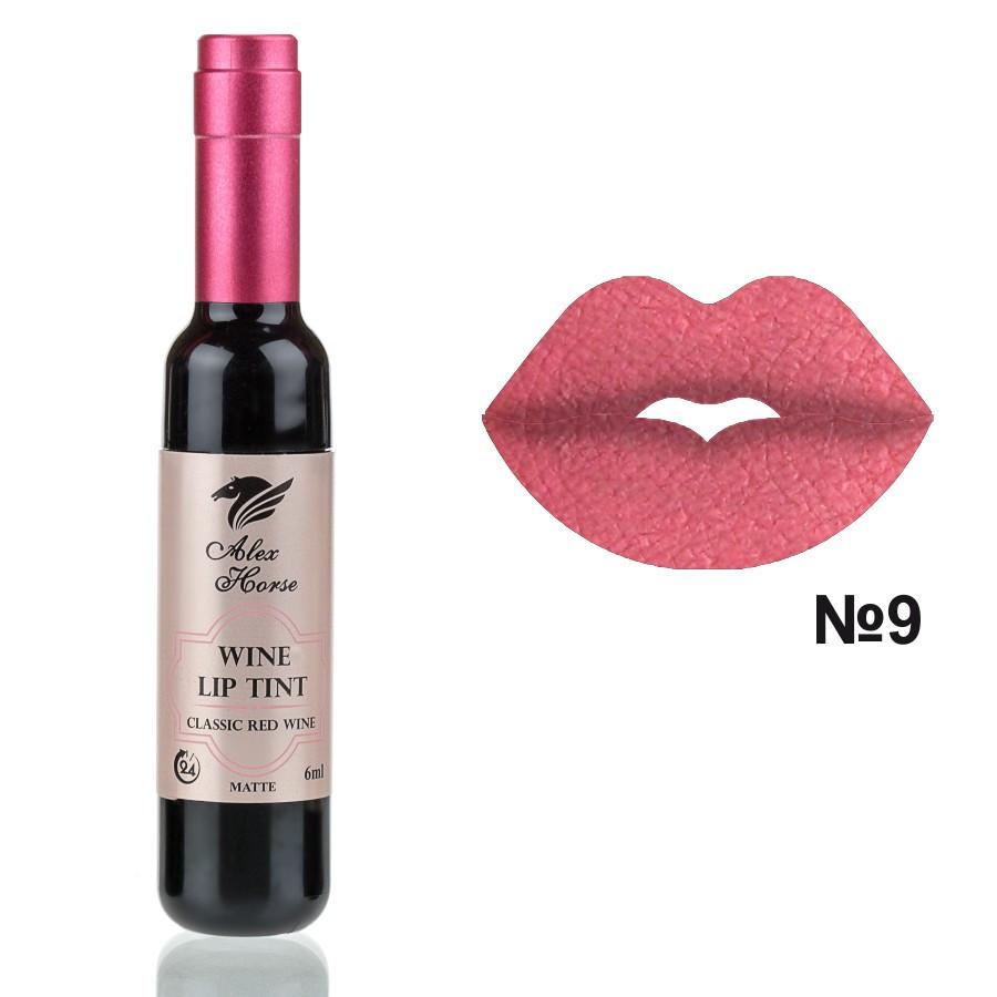 Матовый тинт для губ на основе натуральных пигментов Alex Horse AT-24 № 09