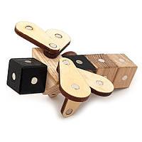 Магнитный деревянный конструктор Зевс Насекомые 19 деталей (К-12)