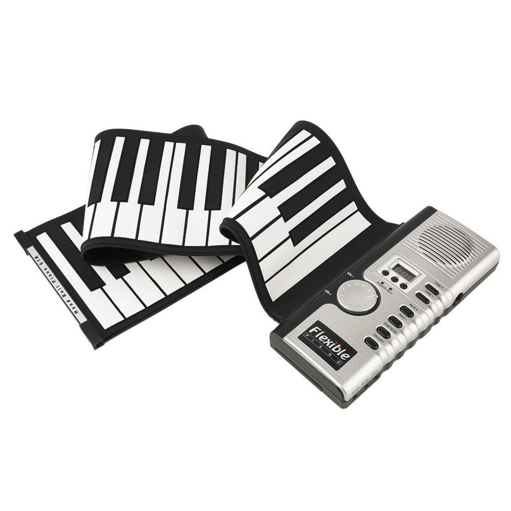 Гибкое пианино MIDI клавиатура синтезатор пианино 61 кл 2000-00329