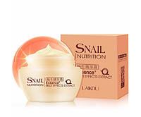 Дневной крем для лица с экстрактом улитки LAIKOU Snail Nutrition Essence Multi-Effects Extract 50 мл (0053)