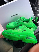 Новинка! Женские кроссовки в стиле Balenciaga Triple S Neon Green (36, 37, 38, 39, 40 размеры), фото 2