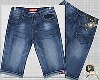 Шорты мужские джинсовые классические светло-синего цвета NewSky