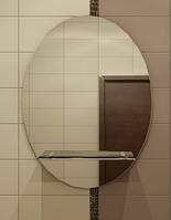 Зеркало с полкой 77х55 см