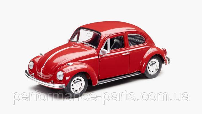 Игрушечный автомобиль Volkswagen Beetle Plastic Toy-Car, Red, артикул 111087511