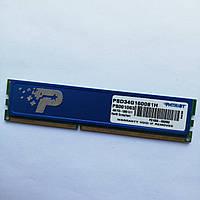 Игровая оперативная память Patriot DDR3 4Gb 1600MHz PC3 12800U 1R8 CL11 (PSD34G160081H) Б/У, фото 1