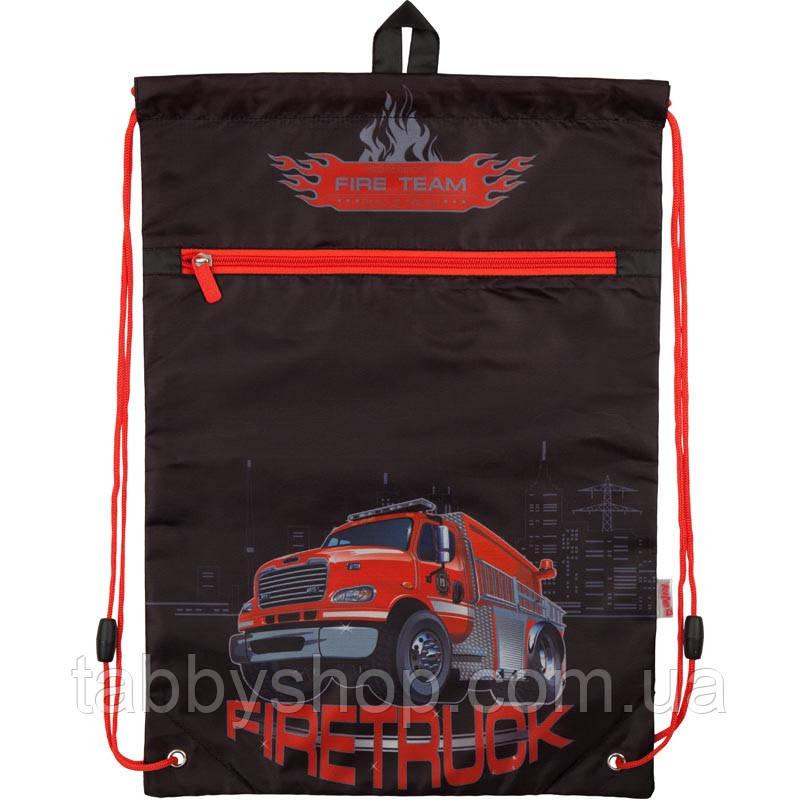 Сумка для взуття з кишенею KITE Firetruck 601M-5