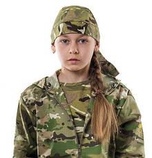 Бандана детская камуфляж Мультикам, фото 2