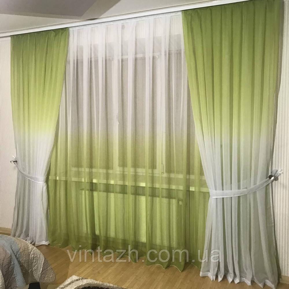 Легкие стильные шторы от производителя